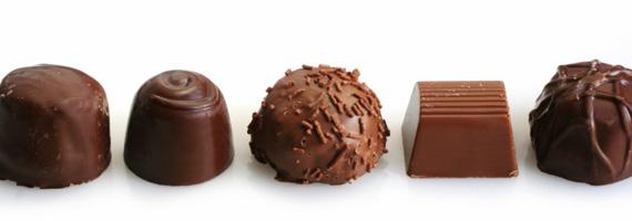 Kort promenad kan halvera chokladätande