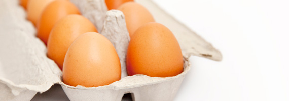 Frossa i ägg!