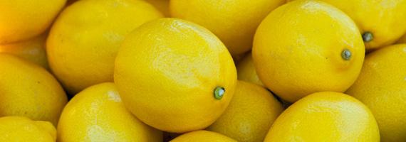 Citroner – rena hälsobomberna