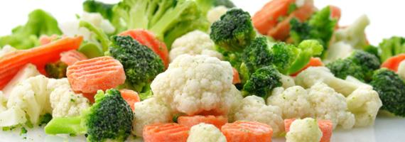Är frysta grönsaker näringsrika?