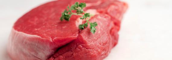 Rött kött farligt för hälsan