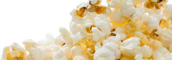 Popcorn är nyttigt