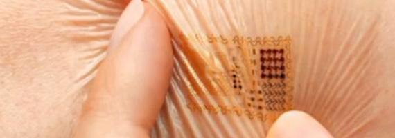 Plåster med biosensor mäter din hälsa