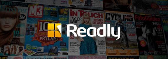 Läs träningstidningar gratis med Readly
