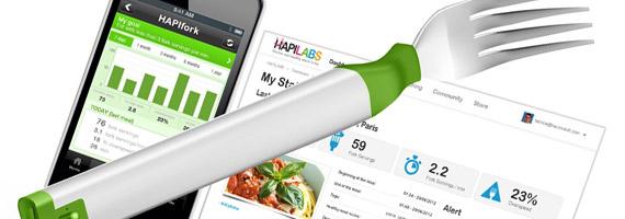 HAPIfork – gaffeln som hjälper dig äta långsammare
