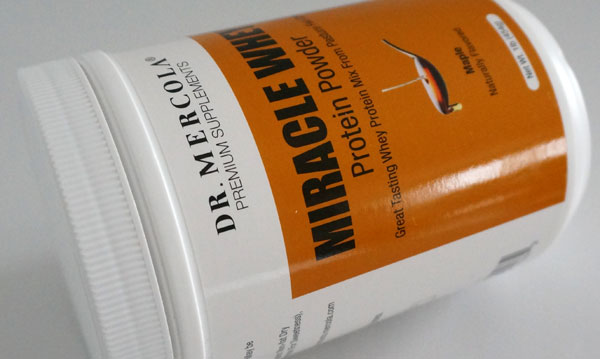 Dr Mercola Miracle Whey