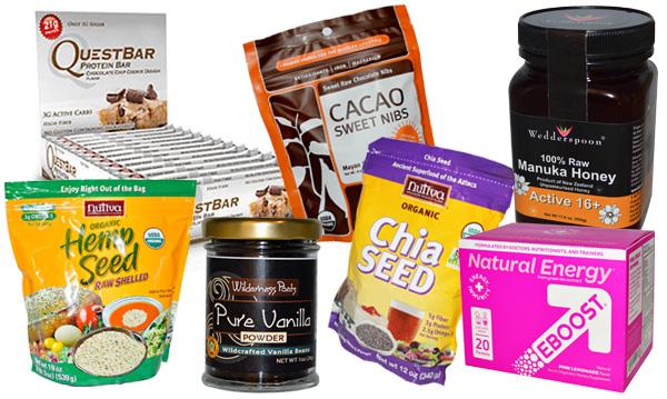 iHerb-favoriter kosttillskott och mat